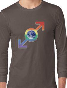 a proud mans world Long Sleeve T-Shirt