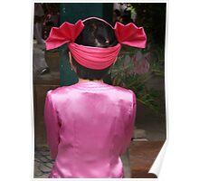 Shan girl in costume Poster