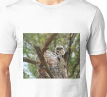 Great horned; the next generation Unisex T-Shirt