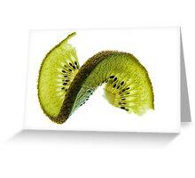 Kiwi With A Twist Greeting Card