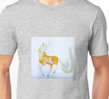 Pinto Palomino Unicorn  with Blue  Unisex T-Shirt