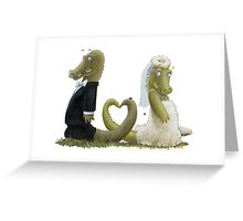 Gator Luv Greeting Card