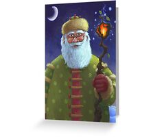 Ole St. Nick Greeting Card