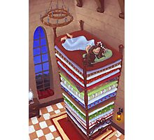 Princess and the Pea Photographic Print