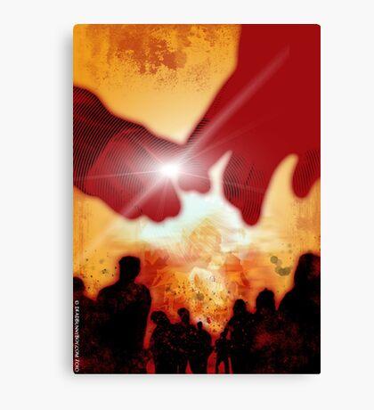 Will you still love me...when the apocalypse comes? Canvas Print