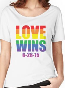 Love Wins 6-26-15 Women's Relaxed Fit T-Shirt