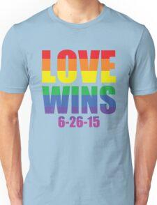 Love Wins 6-26-15 Unisex T-Shirt