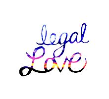 Legal Love Photographic Print