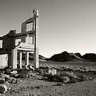 Bank Ruins, Rhyolite Ghost Town by Zane Paxton