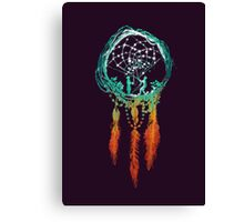 The Dream catcher (rustic magic) Canvas Print