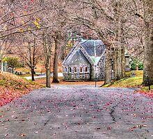 Chapel in the Cemetery by Monica M. Scanlan