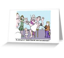 family practice Greeting Card