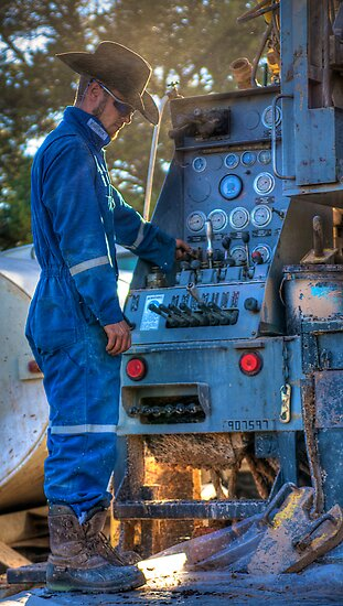 Rig Operator by njordphoto