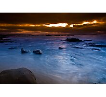 Dawn at The Caves Photographic Print