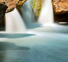 Mckinney Upper Falls (vertical) by Nick Conde-Dudding