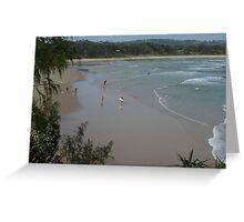 Surfers Life - The Pass Byron Bay, Australia Greeting Card