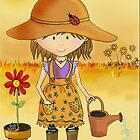 Little Gardener in a Sunburnt Country by Kristy Spring-Brown