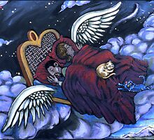 On the Wings of Dream by Rik V. Livingston as Zono Art
