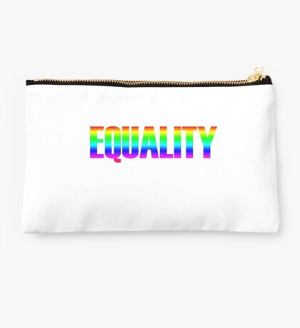 Rainbow Equality Studio Pouch