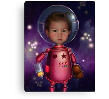 Robo-Cute Canvas Print