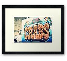 crabs Framed Print