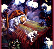 Pleasant Dreams by Rik V. Livingston as Zono Art