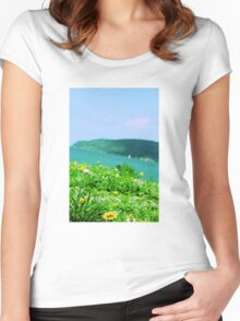 Summer Daydream Women's Fitted Scoop T-Shirt