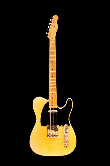 Fender Telecaster (1954) by Paul Thompson