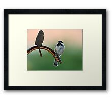 Yes Master...Whatever You Say Master! Framed Print