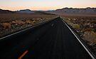 Desert Highway at Dusk by Zane Paxton