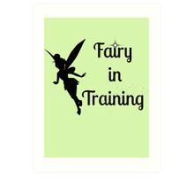 Fairy in Training Art Print