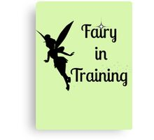 Fairy in Training Canvas Print