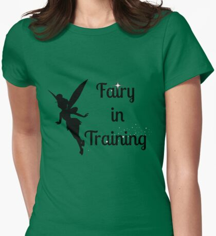 Fairy in Training Womens Fitted T-Shirt