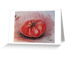 The Tomato Greeting Card