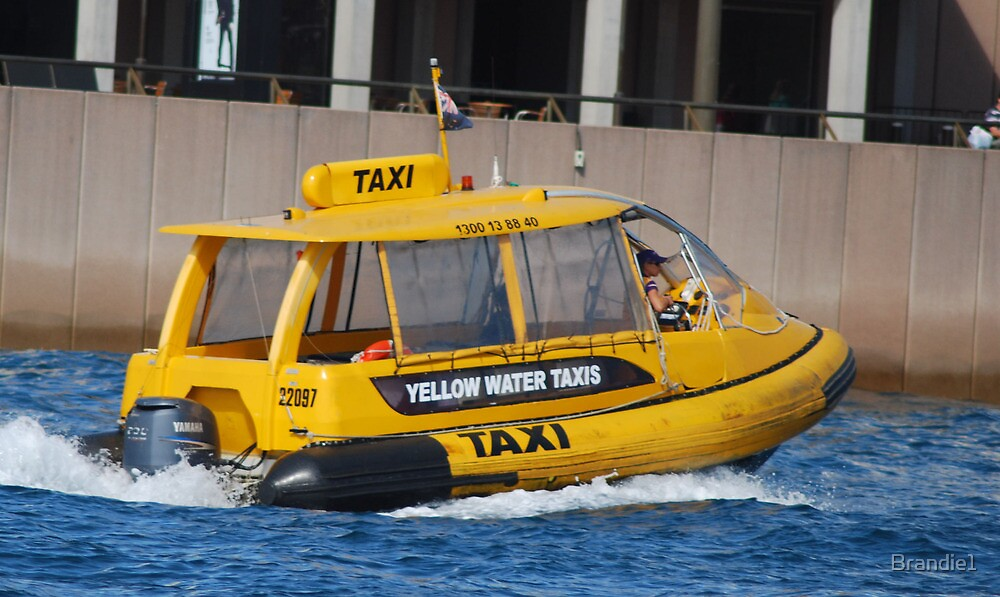 Harbour Taxi. by Brandie1