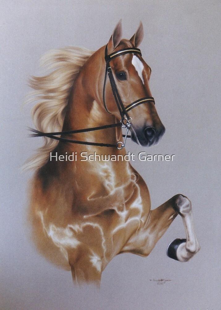 Saddlebred by Heidi Schwandt Garner