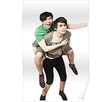 phil riding dan  Poster
