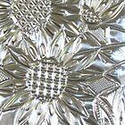 Silver Sunflowers by MelDavies