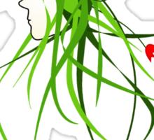 pot-head Sticker