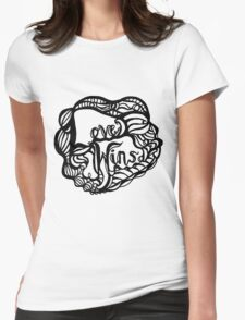 Love Wins Design - Version One Womens Fitted T-Shirt