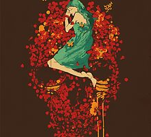 Roses are red, but why you look so blue by Budi Kwan