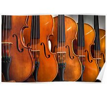 Repeating Violins  Poster