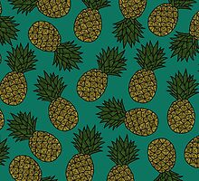 PINEAPPLE - EMERALD by tosojourn