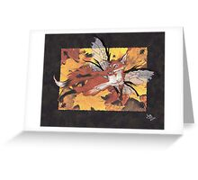 Fox Fae Greeting Card