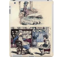 The Little Folks Painting book by George Weatherly and Kate Greenaway 0025 iPad Case/Skin