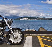 Waiting for the Ferry by Tony Burton