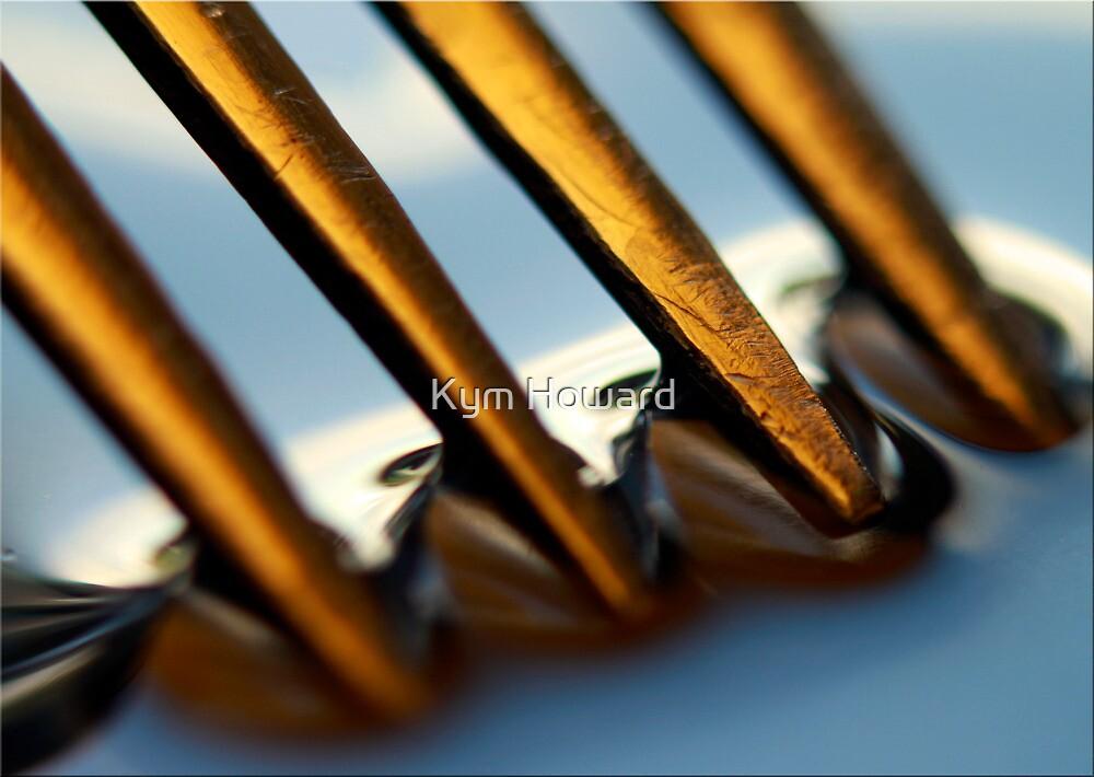 Golden Tynes by Kym Howard