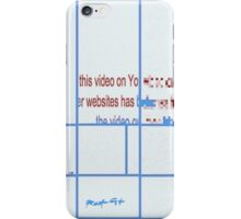 VIDEO REMOVED DDD ROOTCAT iPhone Case/Skin
