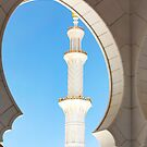Sheik Zayed Mosque Detail by Mary Grekos