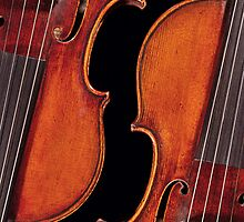 Twin Violins by Endre